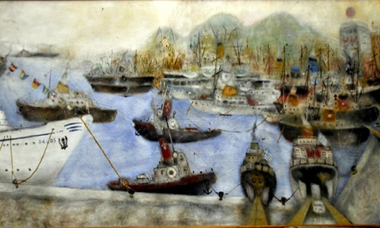İade edilen zanaat eserleriyle, düz kayıtları Ledra Palace'da sergileniyor