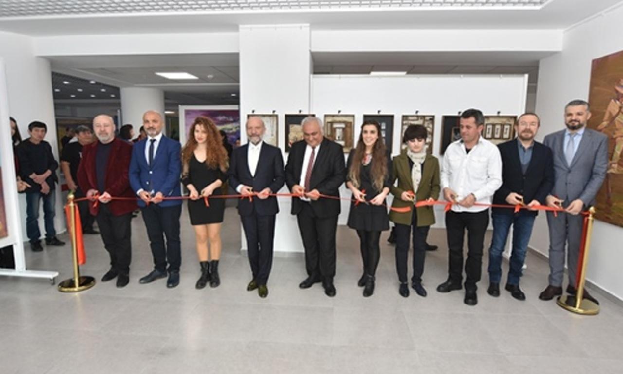 Türkiye, Tacikistan dahi Kazakistanlı sanatçıların sergileri açıldı