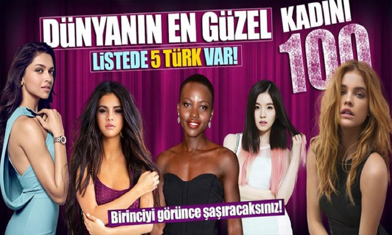 Dünyanın genişlik güzel 100 kadını