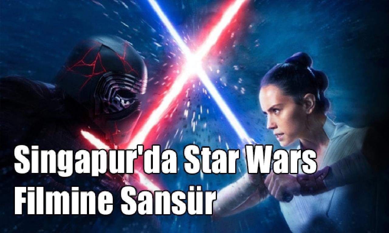 Singapur'da Star Wars Filmine Sansür