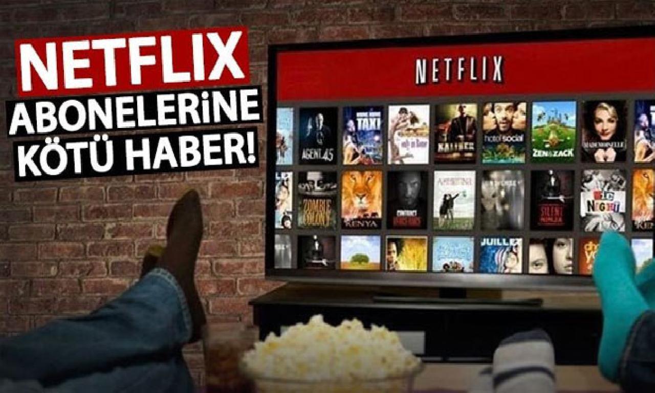 Netflix abonelik ücretine artırım gelecek