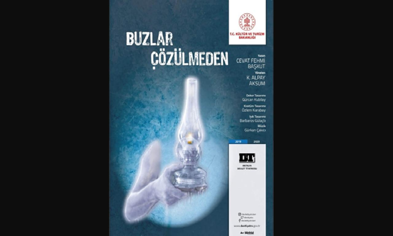 'Buzlar Çözülmeden' Girne'de oyun alıyor