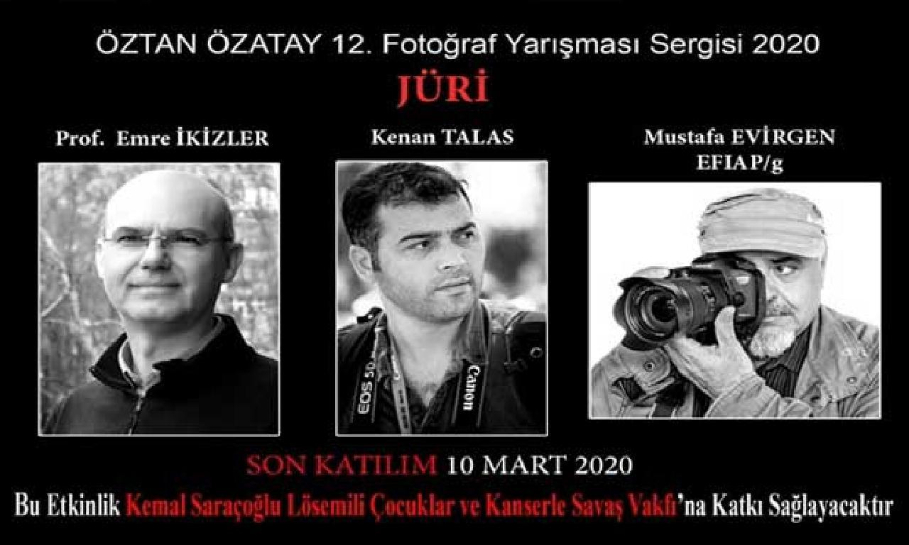 Öztan Özatay Fotoğraf Yarışması için bitimi başvuru 10 Mart