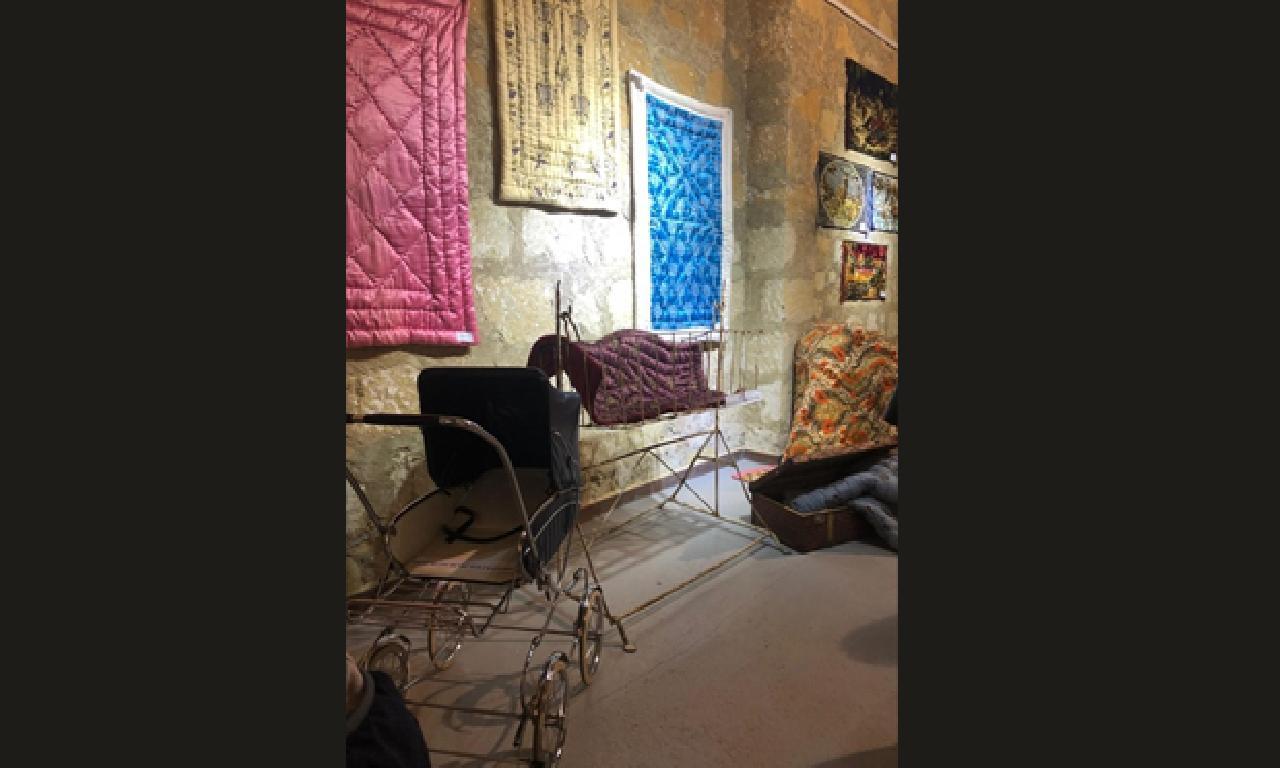 'Kaybolan Kültürümüz - Yorganlarımız' sergisi açıldı