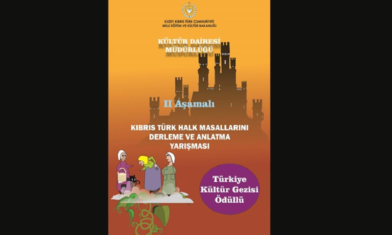 'Kıbrıs Türk Halk Masallarını Derleme dahi Anlatma Yarışması' düzenleniyor