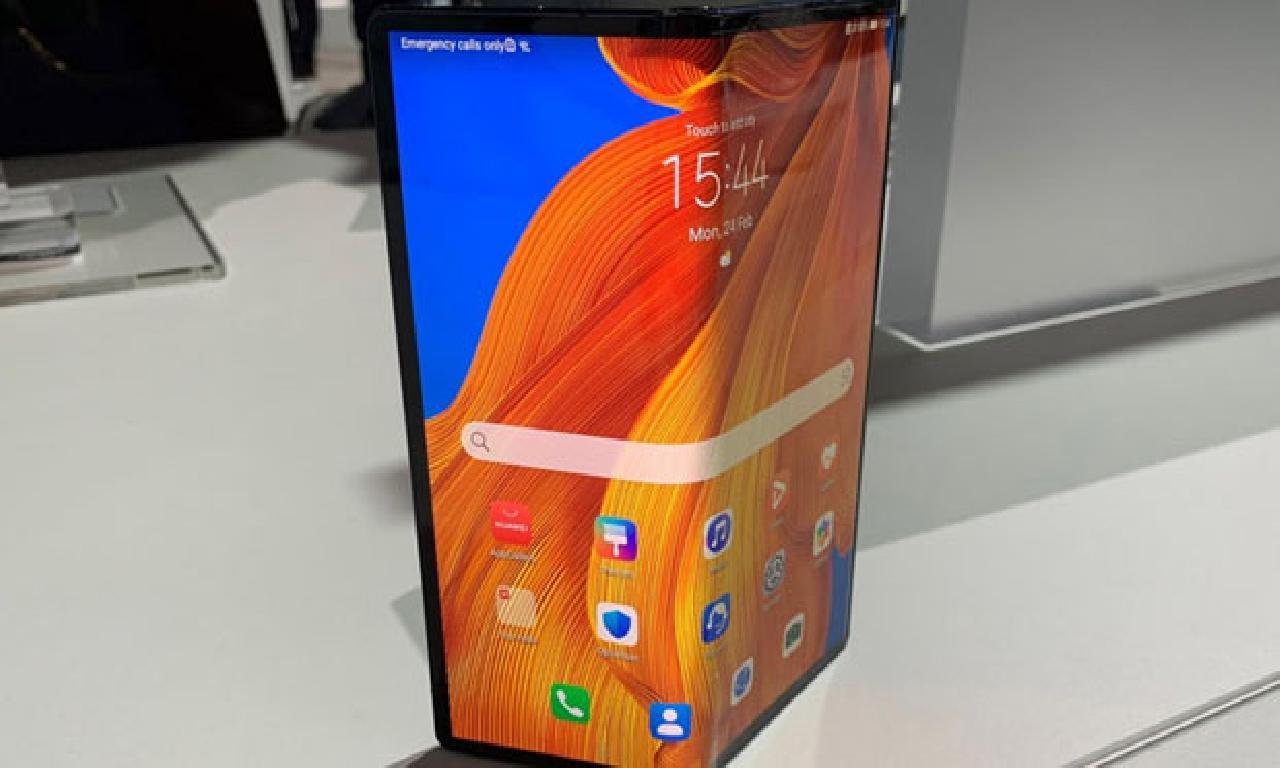 Katlanabilir Huawei Mate Xs'in fiyatı malûm evet