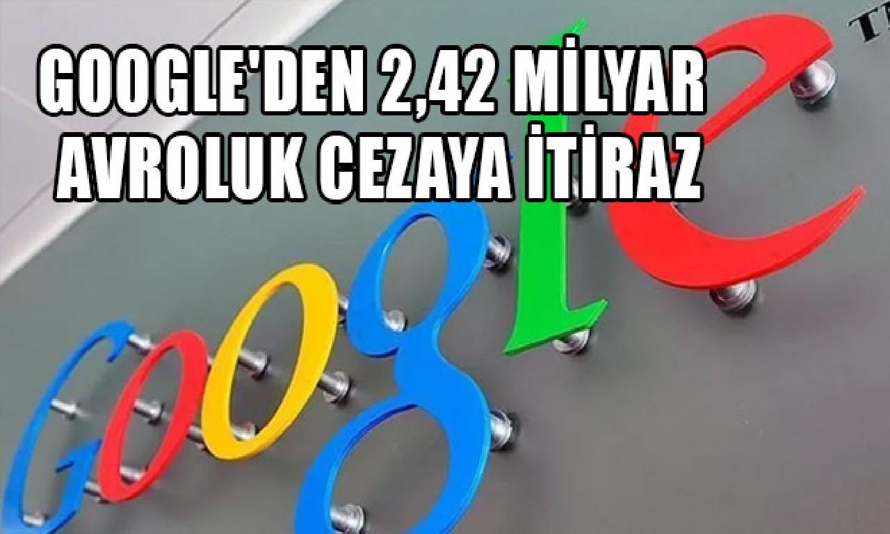Google artdil cezaya diyecek etti