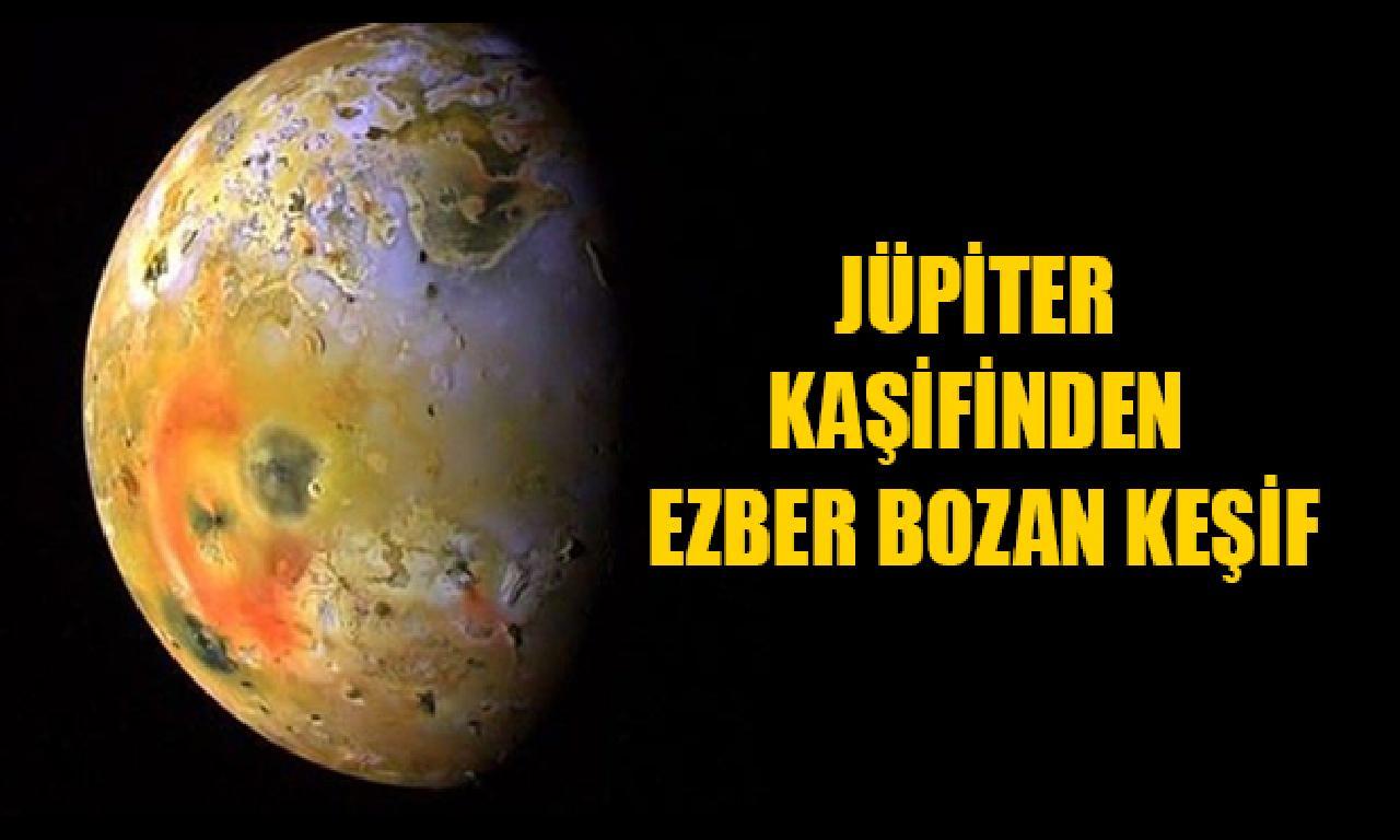 Jüpiter kaşifinden ezber buzan keşif