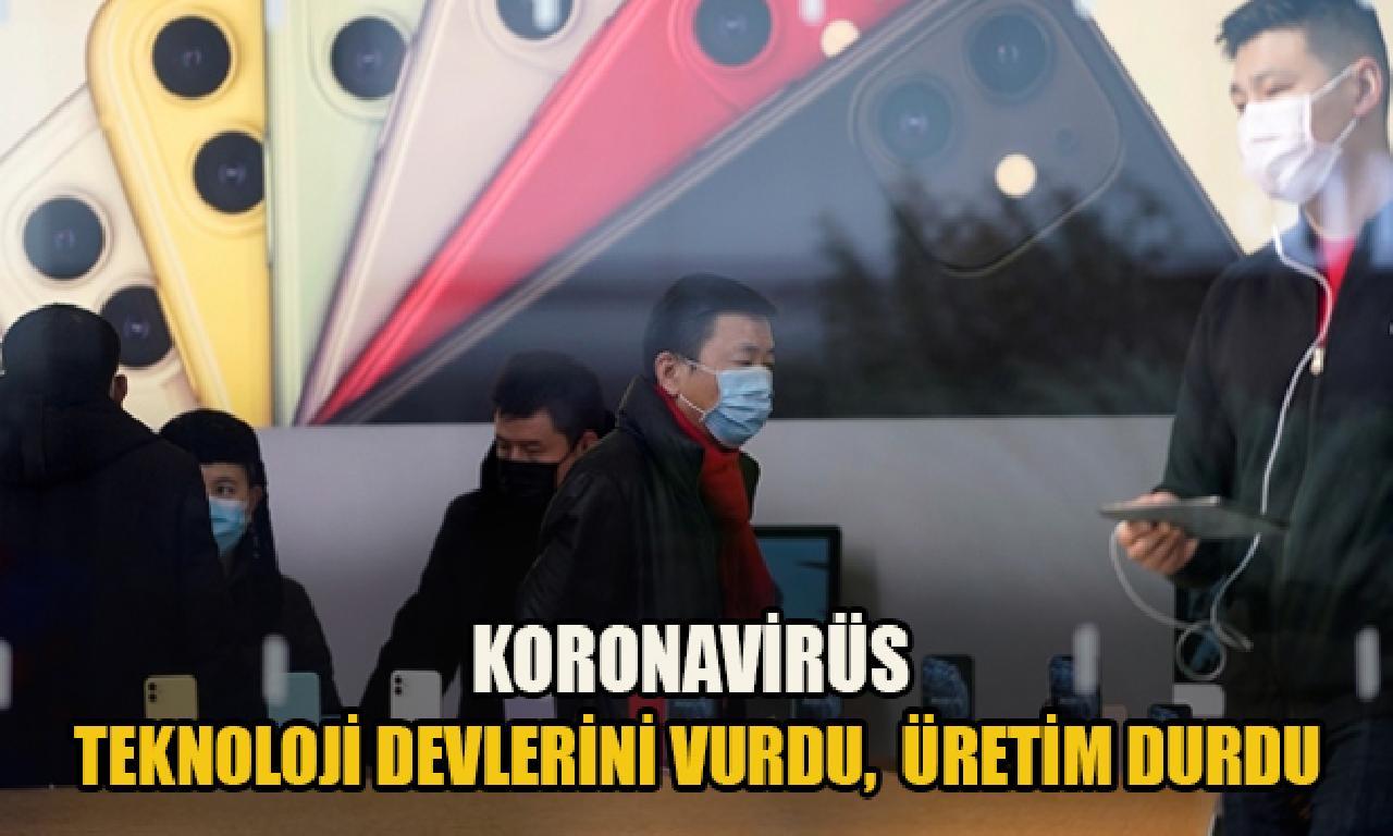Koronavirüs yordamlık devlerini vurdu, üretim duran