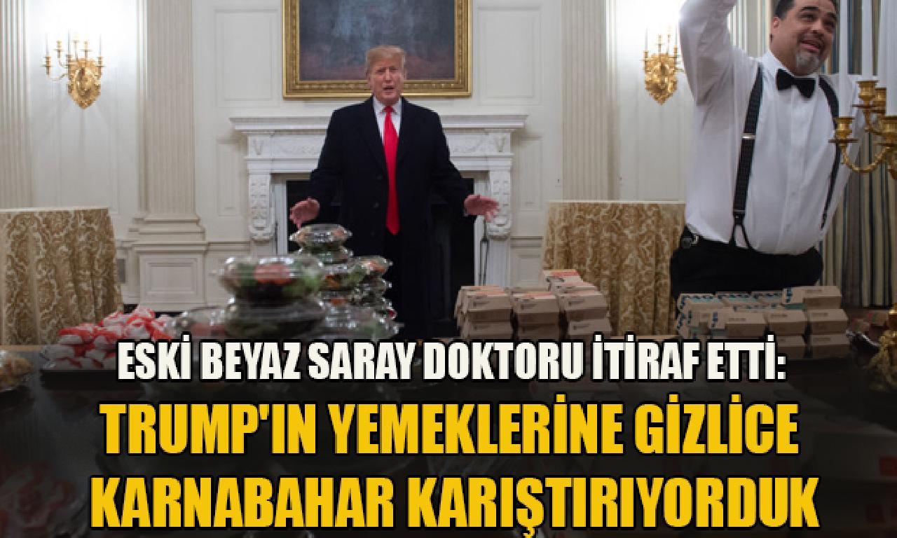 Eski Beyaz Saray camanbay söyleme etti!