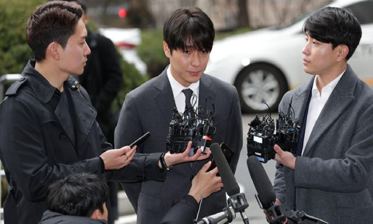 Güney Koreli popüler yıldızlarına toplanmış tecavüzden hapishane