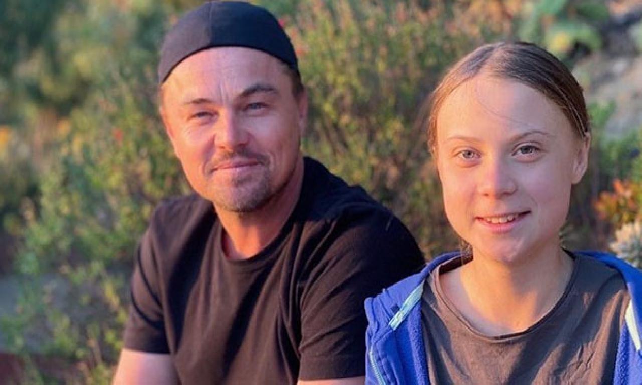 Leonardo DiCaprio ilen Greta Thunberg buluştu