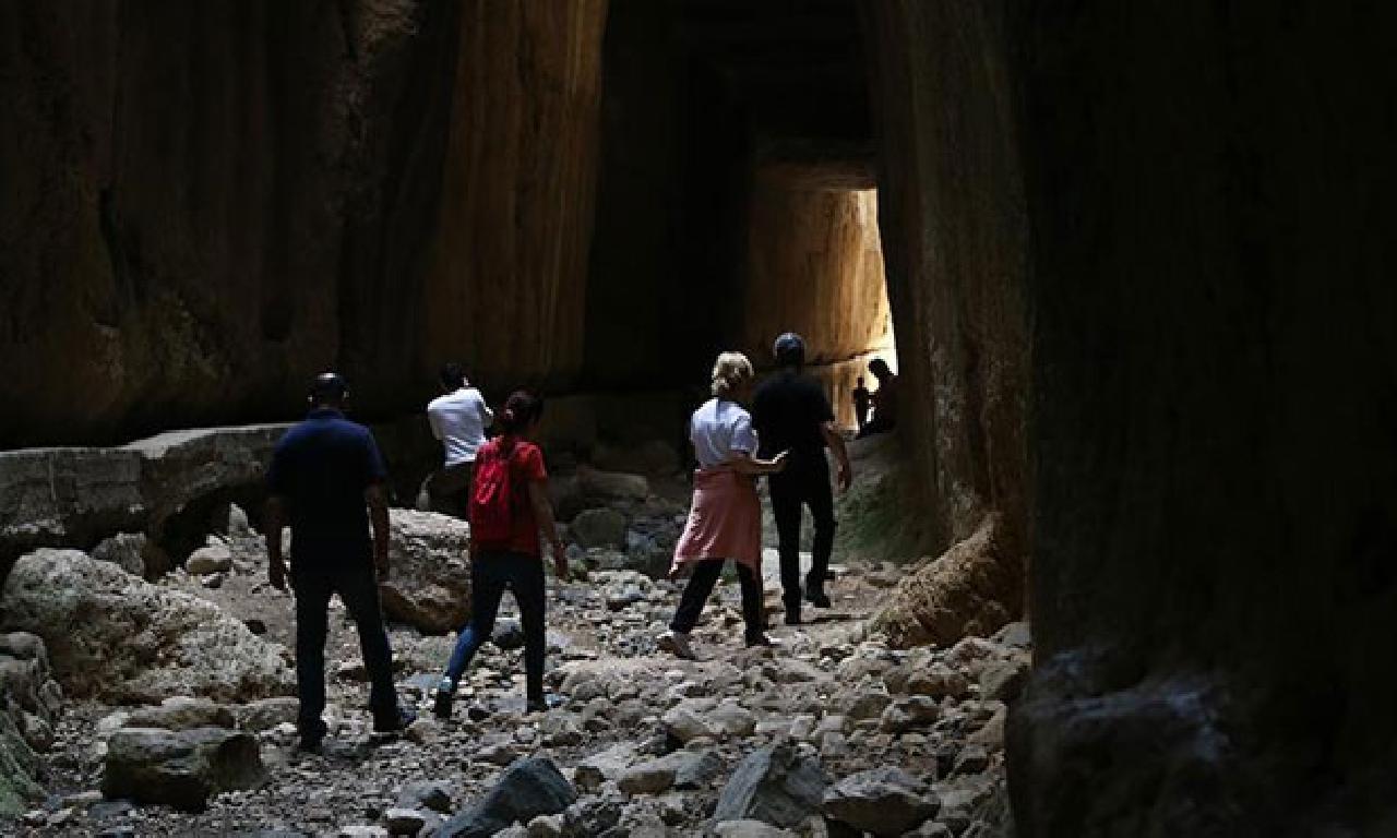 Gezginlerin görülmemiş gözdesi: Titus Tüneli