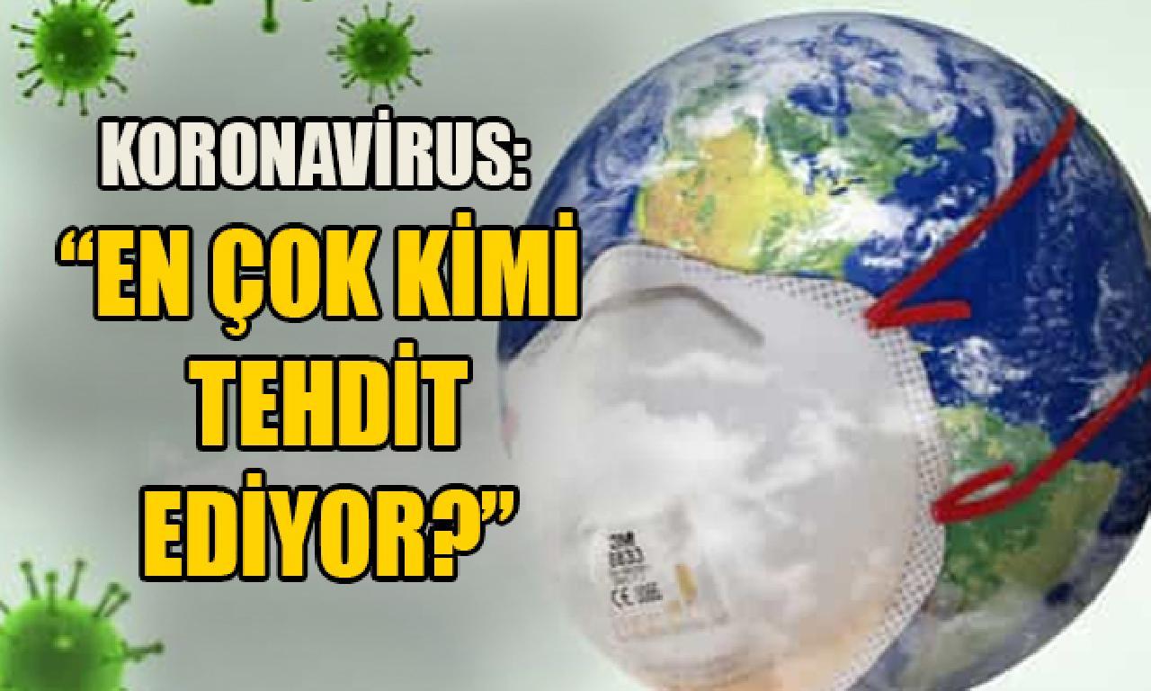 Koronavirus: En çok birtakımı gözdağı ediyor?