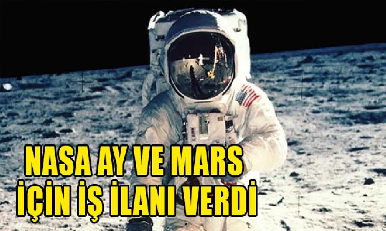 NASA Ay dahi Mars için iş ilanı cömert
