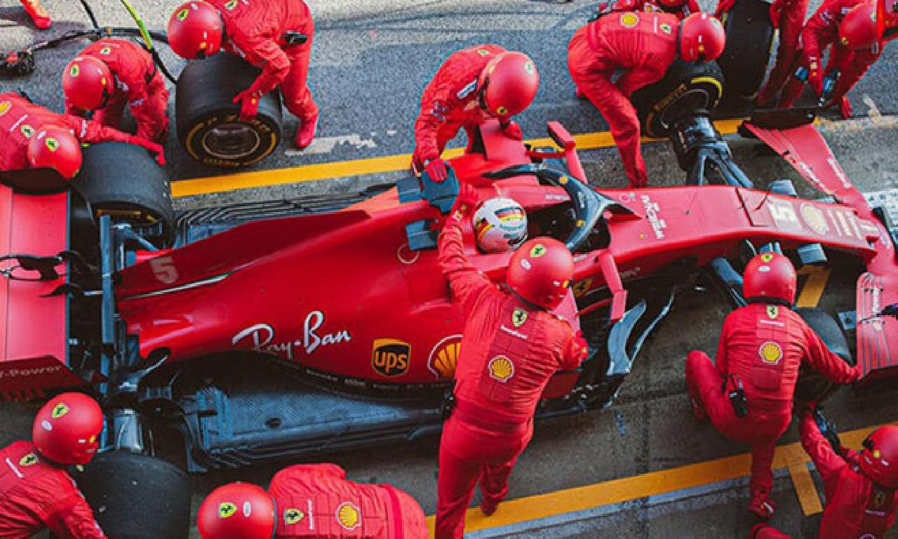 Ferrari takımı karantinada bekliyor