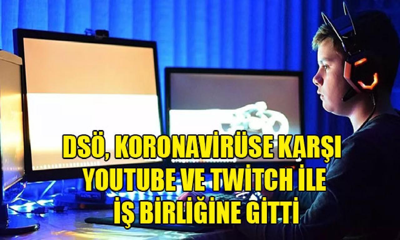 DSÖ, koronavirüse karşı YouTube dahi Twitch imişçesine devlerle iş birliğine yapılacağını