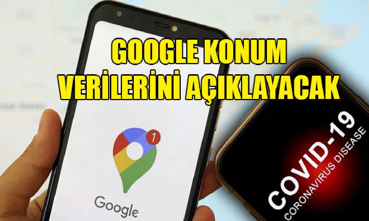 Google, Kovid-19 ilen mücadeleye dayanak için pozisyon verilerini açıklayacak