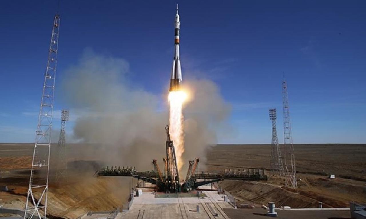 Soyuz MS-16 uzaya fırlatıldı