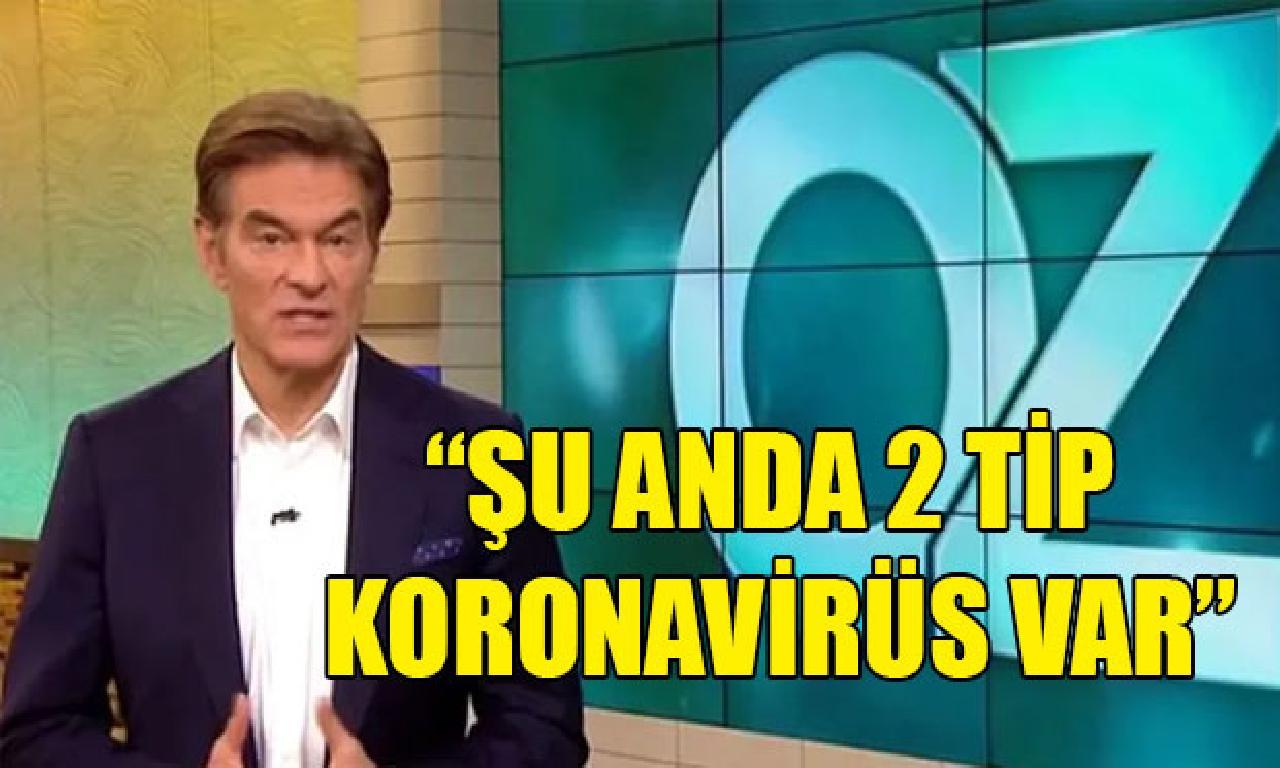 Doktor Mehmet Öz: İkinci virüs henüz azot korkulu