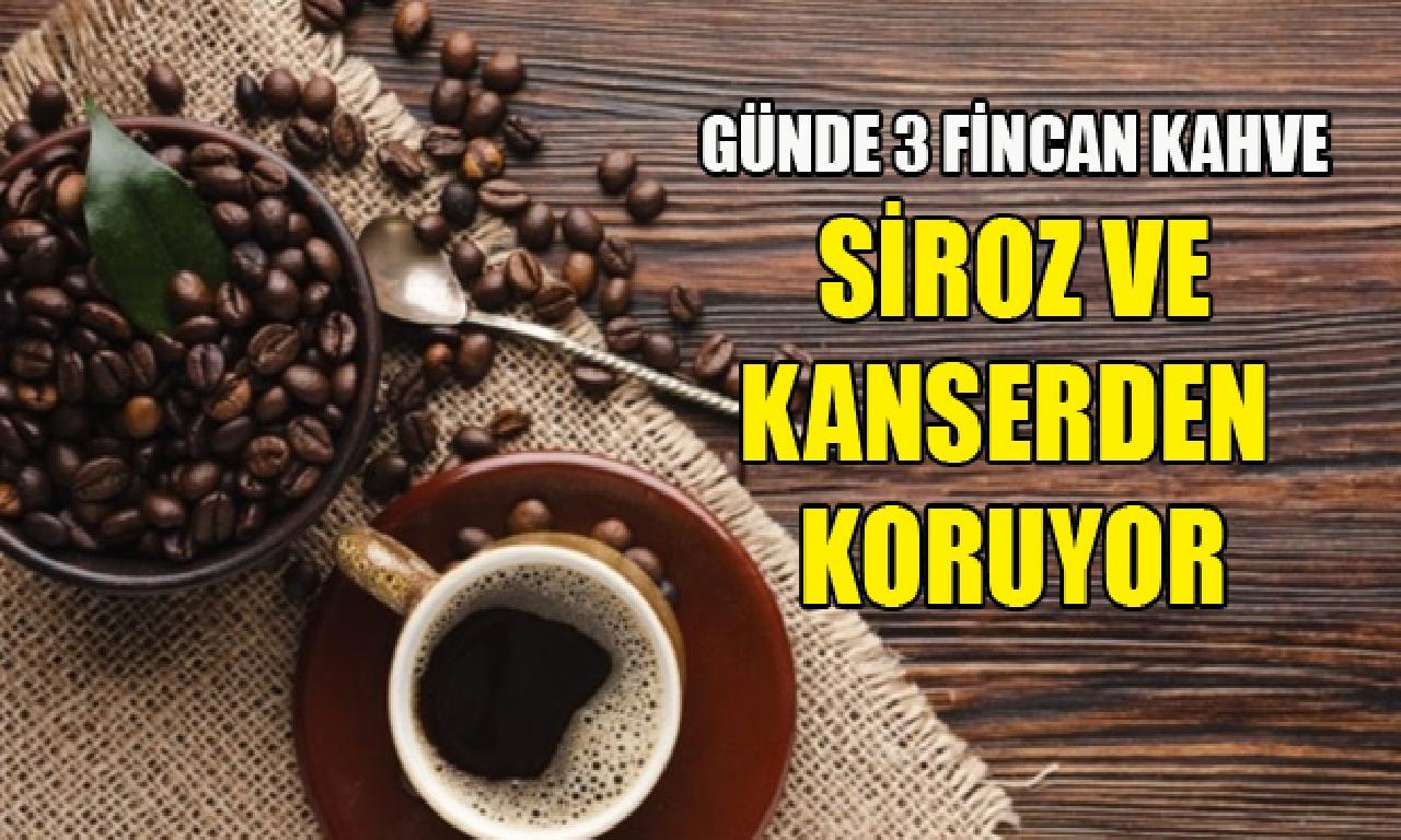Günde 3 çay kahve karaciğeri koruyor!
