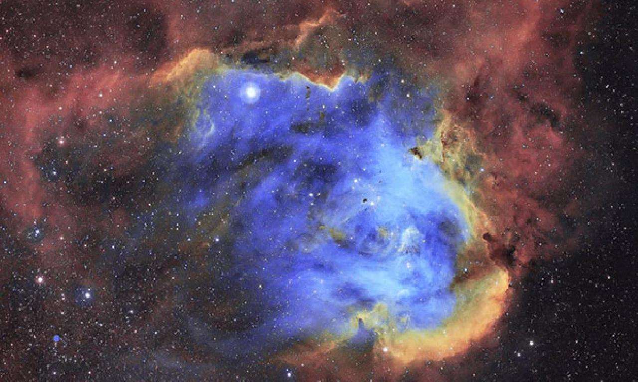 NASA, 'Koşan Tavuk Bulutsusu'nun Yeni Bir Fotoğrafını Paylaştı
