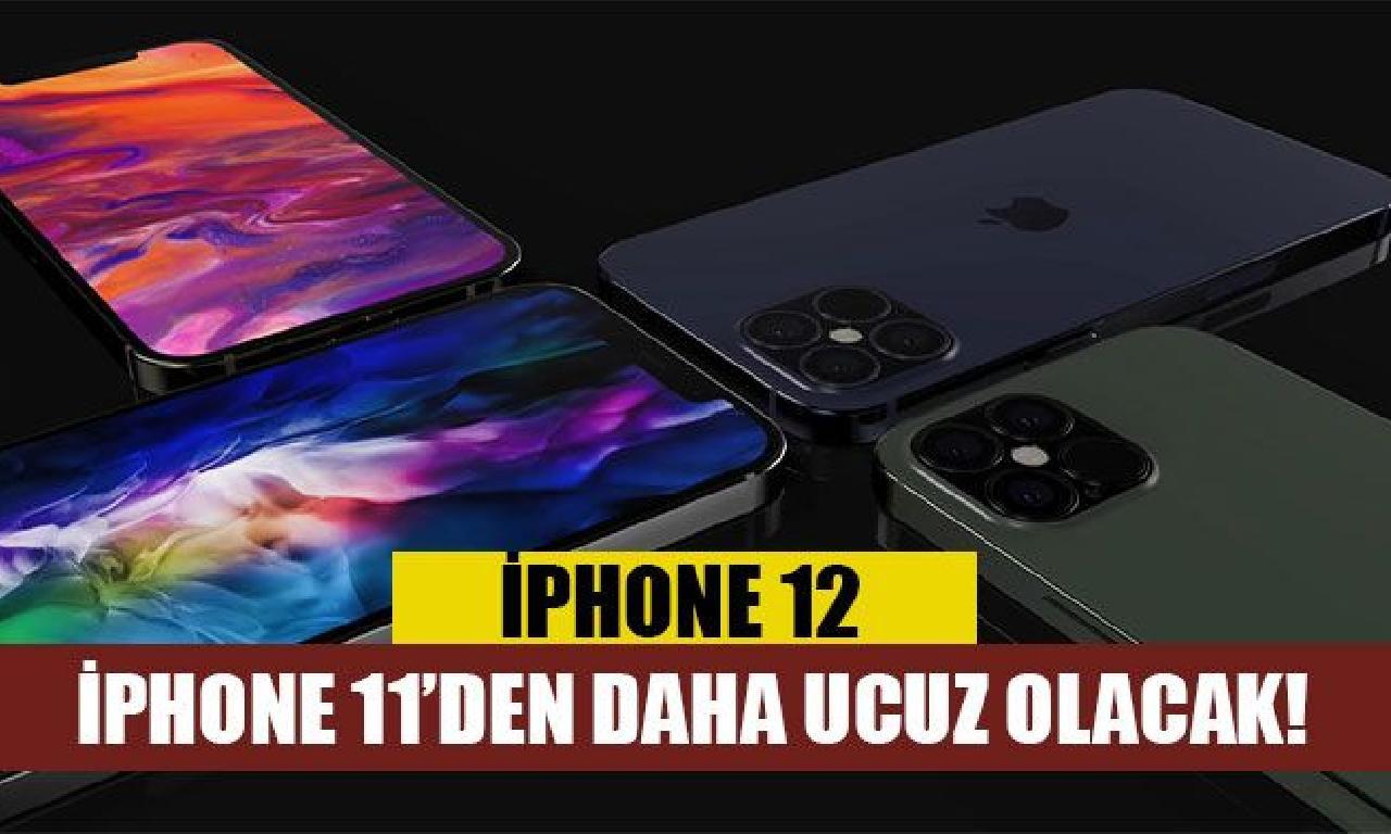 iPhone 12 fiyatı için yüzleri güldüren iddia!