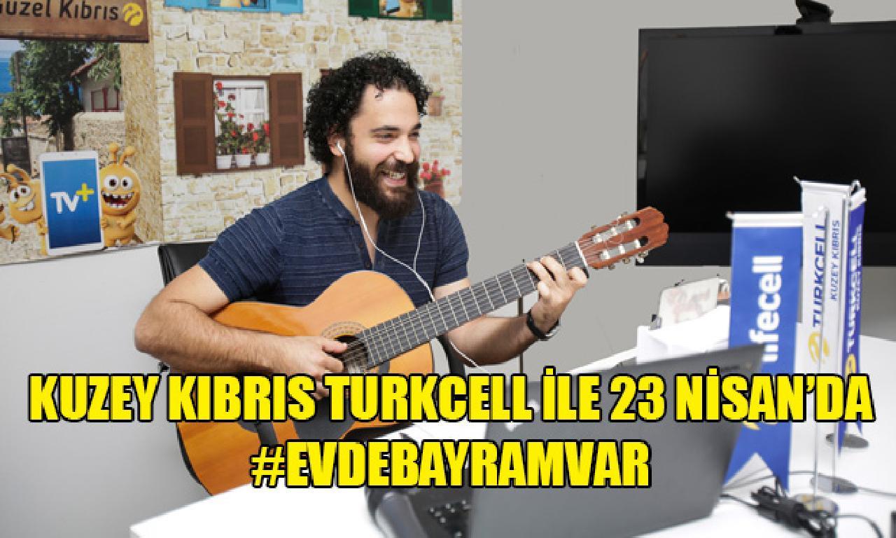 Kuzey Kıbrıs Turkcell 23 Nisan'ı çocuklarla beraberce online platformda kutladı