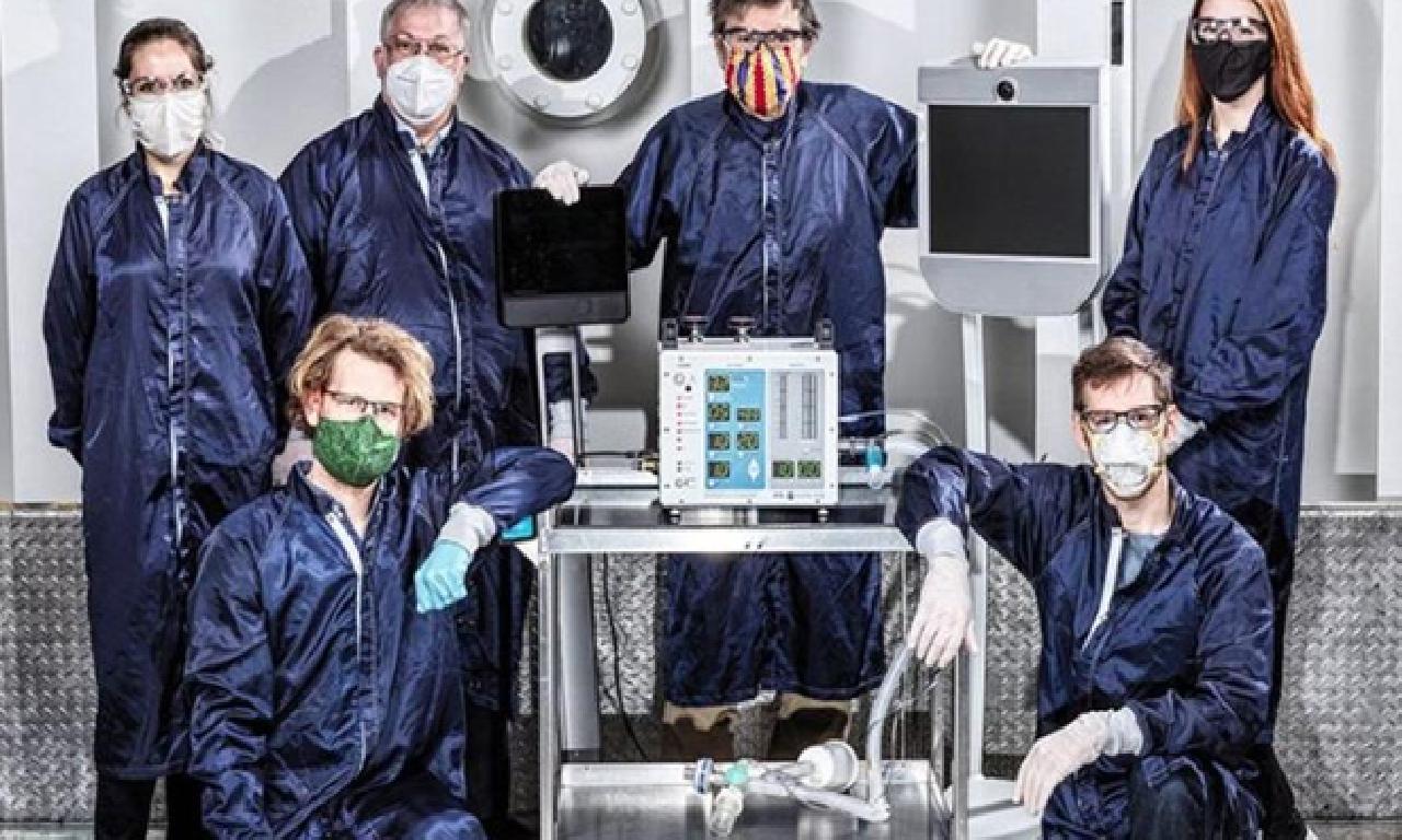 NASA teneffüs cihazı üretti!