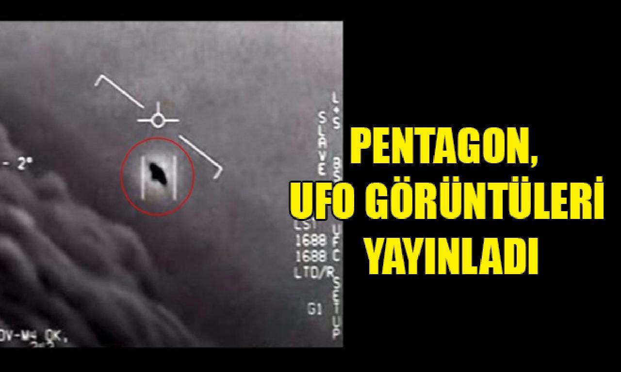 Pentagon, UFO görüntüleri yayınladı