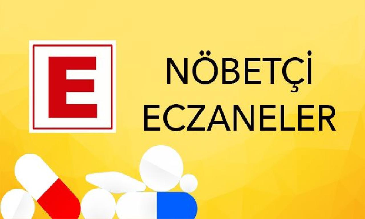 Nöbetçi Eczaneler (1 Mayıs 2020)