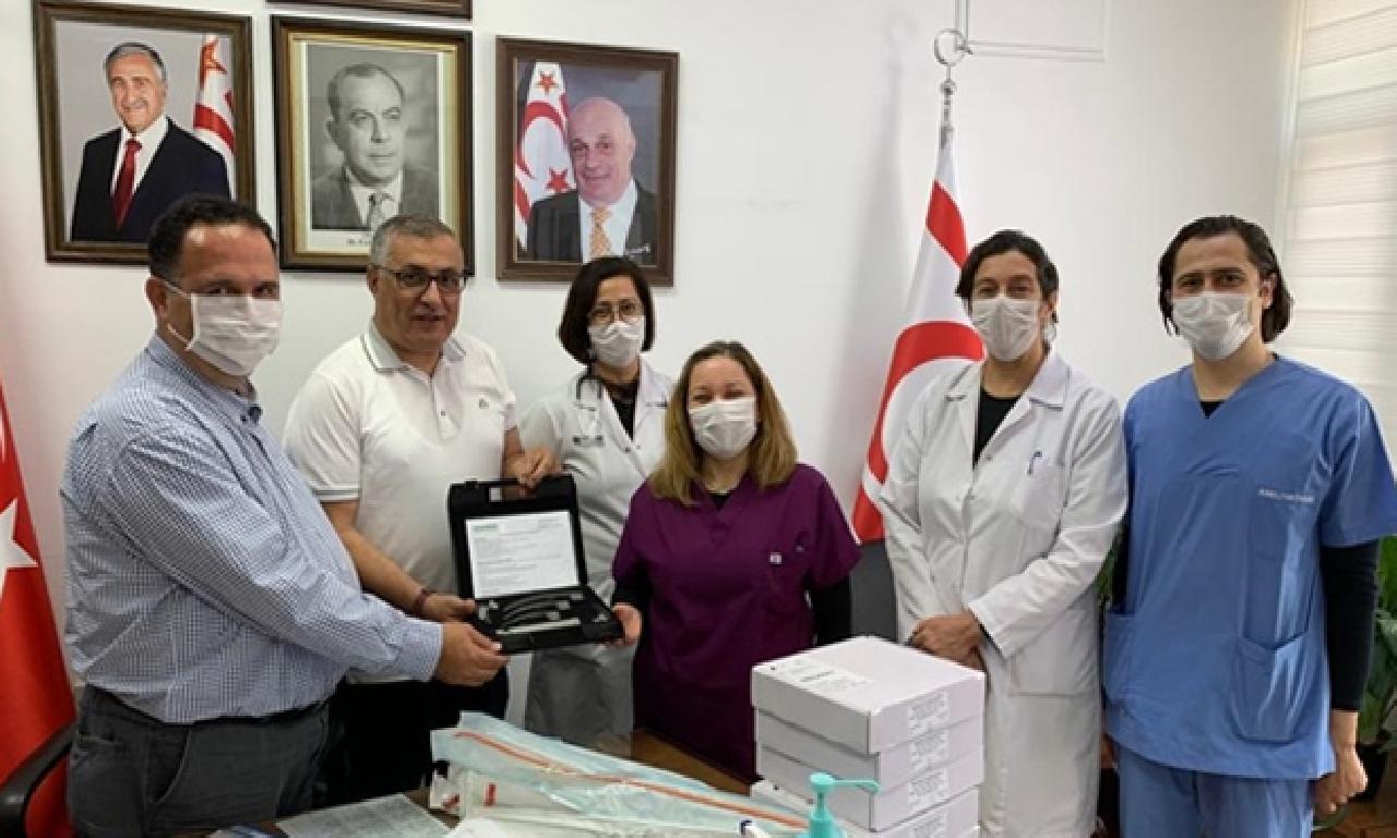 Tabipleri Odası'ndan hastaneye bağış
