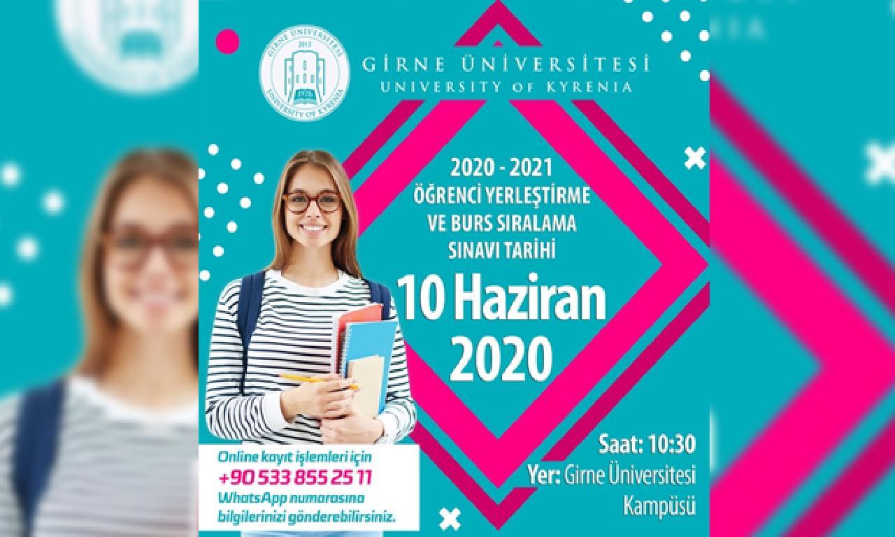 Girne Üniversitesi'nin 16 Mayıs'ta Yapılacak Burs Sıralama Sınavı 10 Haziran'a Ertelendi