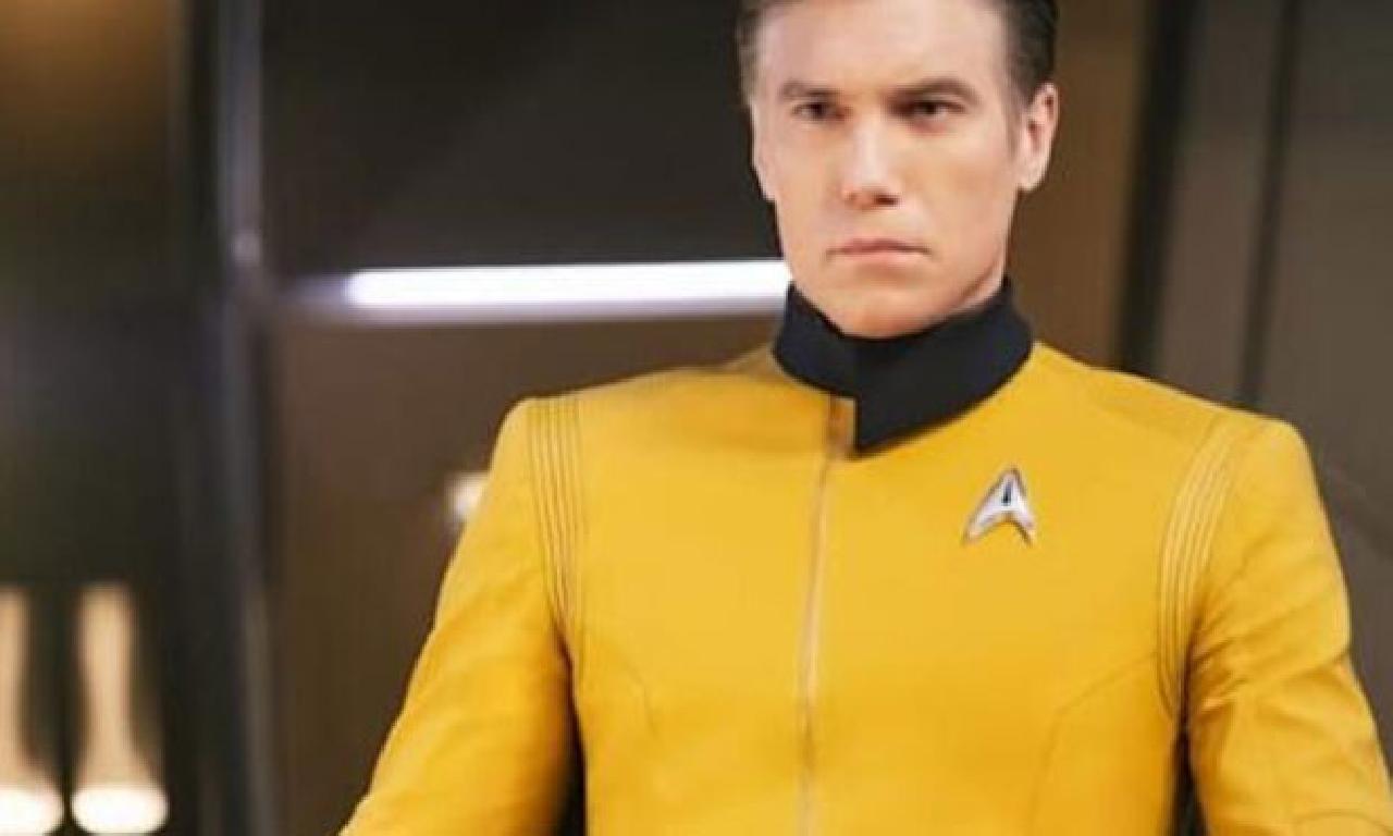 Captain Pike için görülmemiş tek sıra ortaya çıktı
