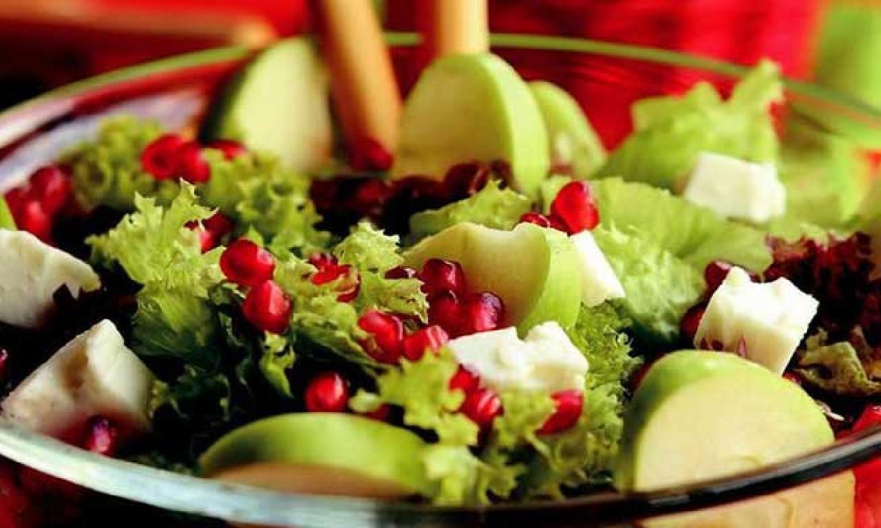 Bayram sofralarına özel 9 sağlıklı salata!
