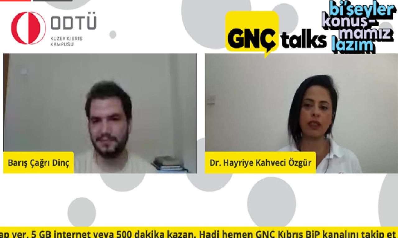 """""""GNÇ Talks"""" yoğun katılım dahi candan izleme edildi"""