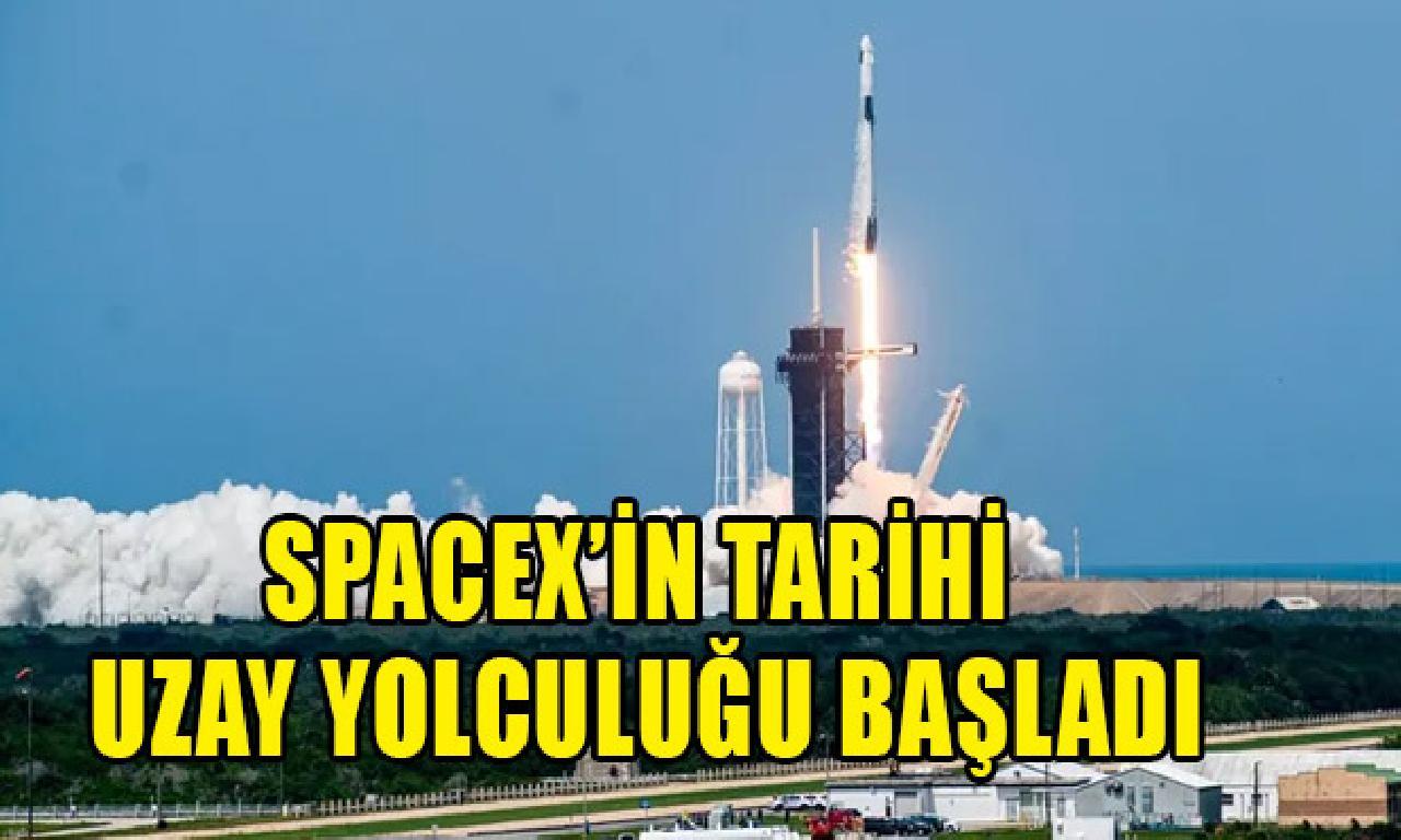 SpaceX'in helenist feza yolculuğu başladı