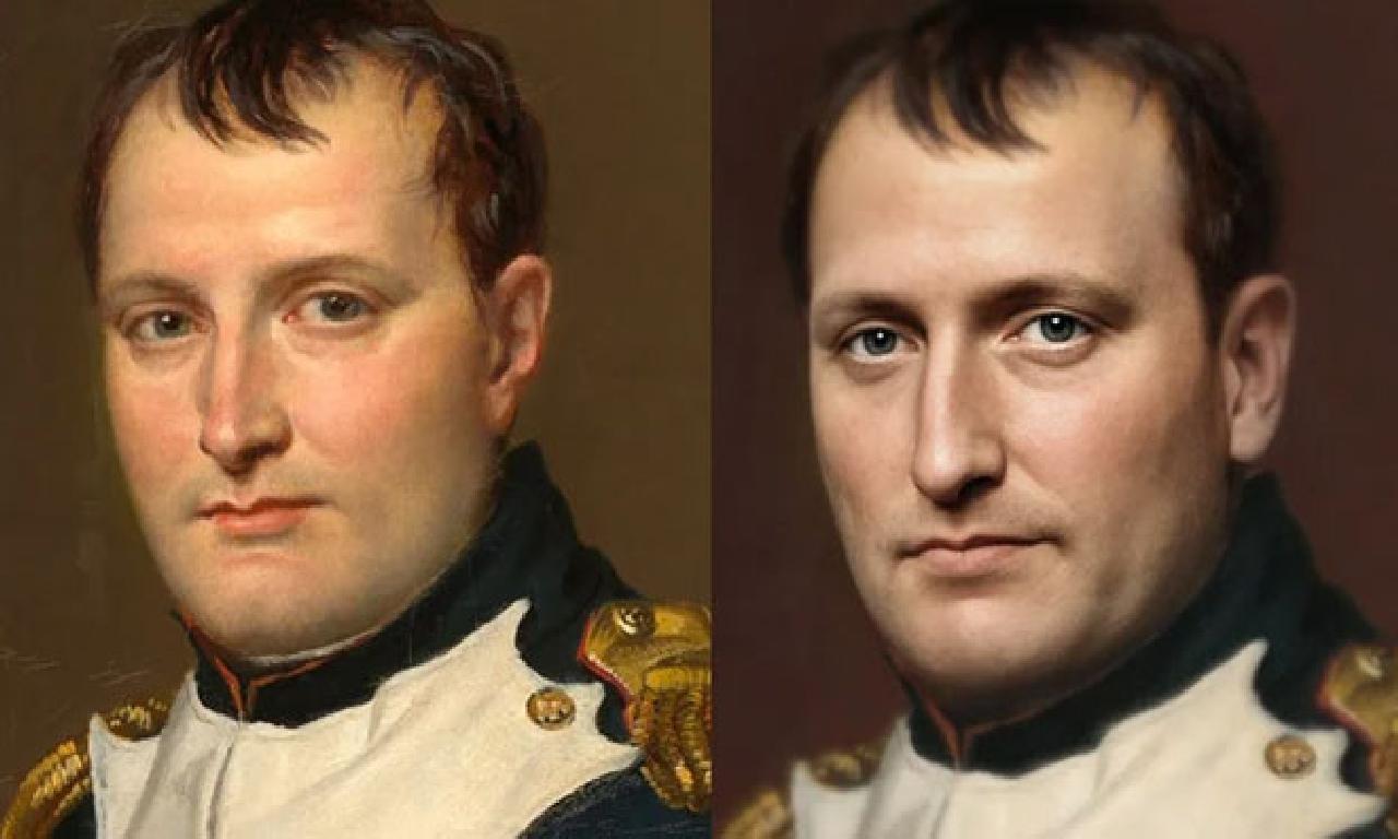 Bir Yapay Zeka, Napolyon'un Gerçek Yüzünü Oluşturdu