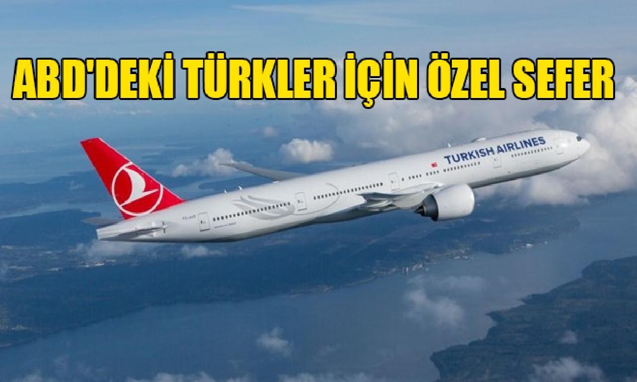ABD'deki Türkler için özel yolculuk