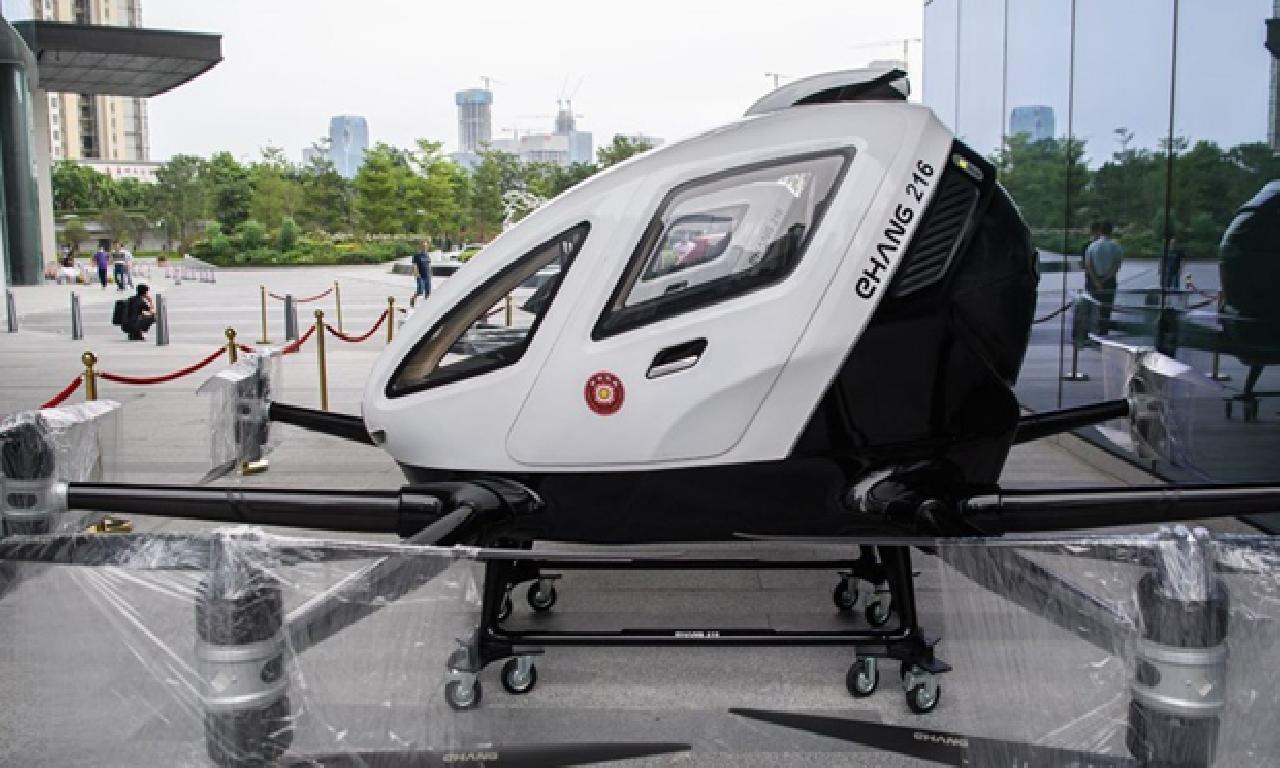 Çin'de colda taşıyabilen dronelar hizmete hazır