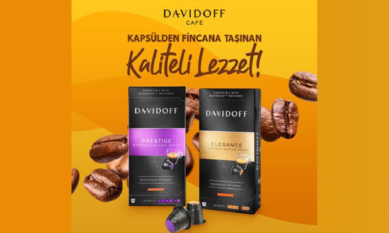 Davidoff Café, kalitenin tadına aramak isteyenler için marketlerde