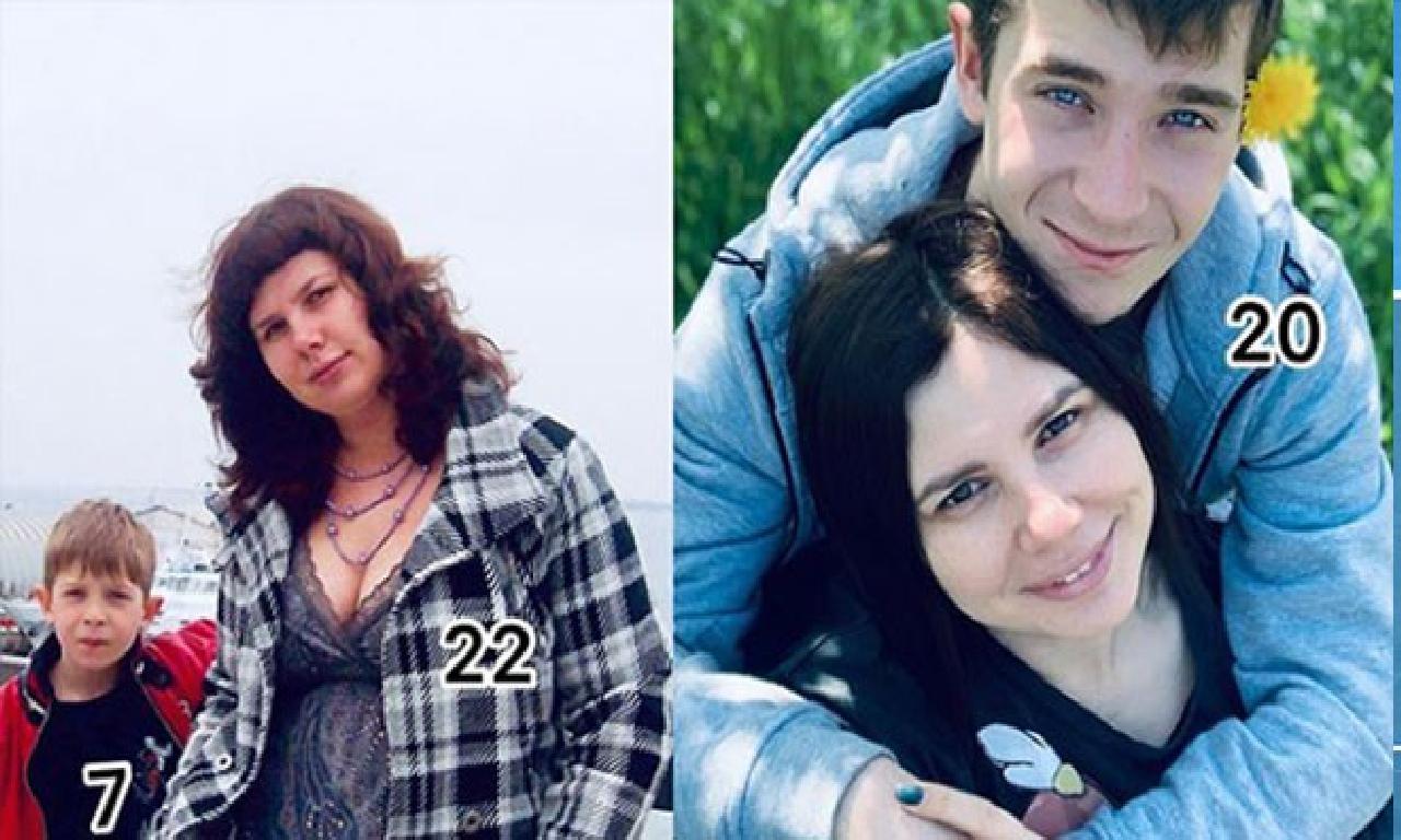 Sosyal iletişim ortamı fenomeni eşinden ayrıldı, üvey oğlundan gebe kaldı!