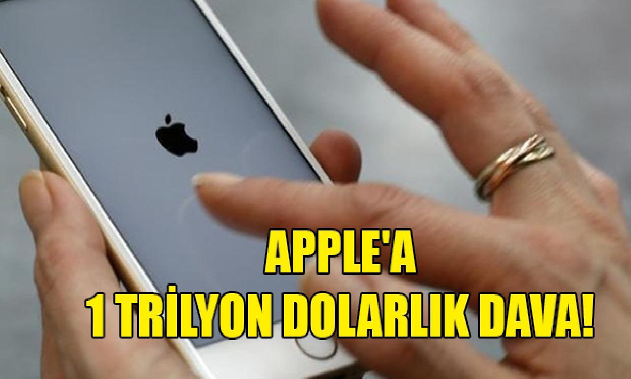 Apple'a 1 1000000000000 dolarlık dava!