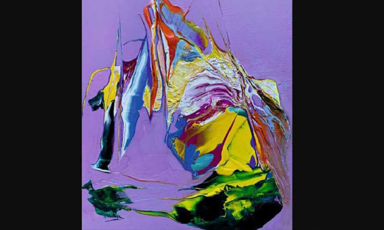 Ressam Salih Mustafa Çizel'den ''Sanatta Pandemi'' sergisi