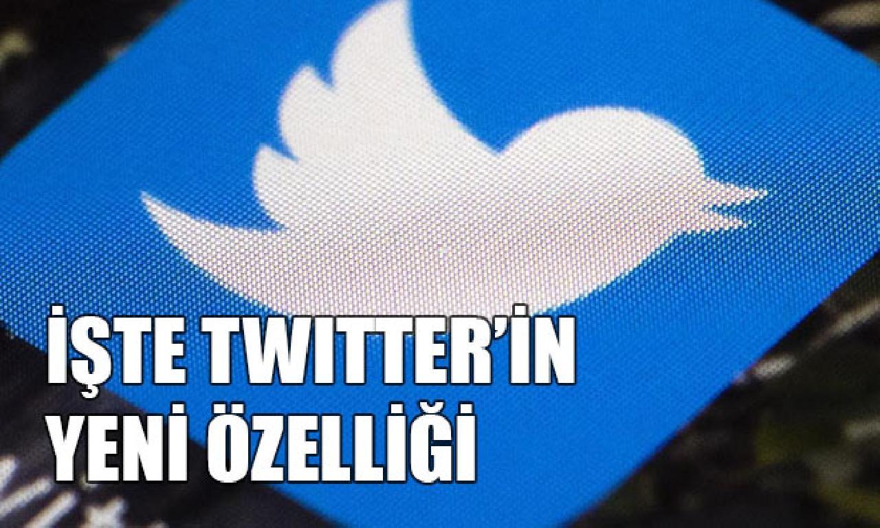 Twitter görülmemiş özelliğini teste başladı