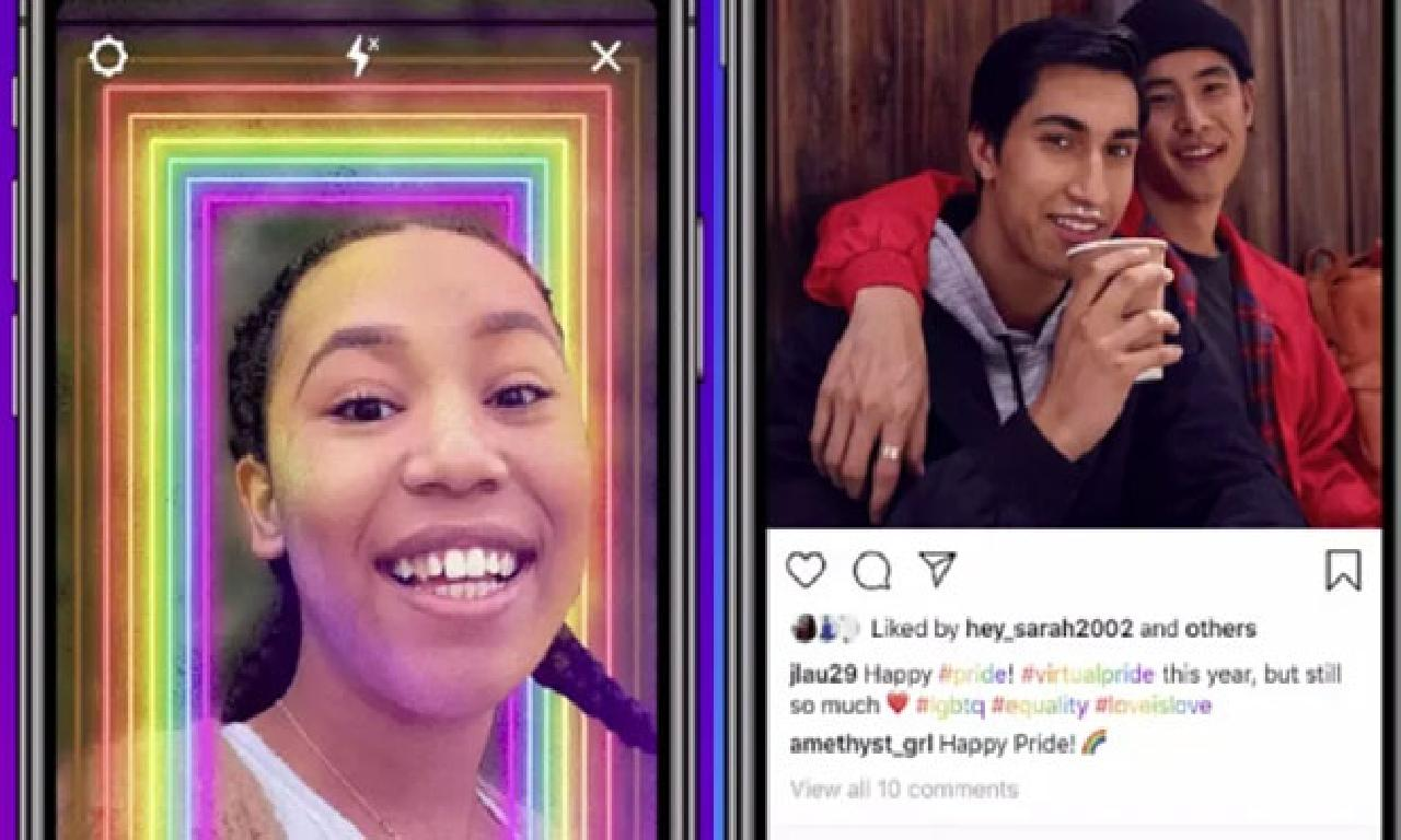 Instagram, Onur Haftası'nı LGBTİ Temalı Yeni Özellikleri ilen Kutluyor