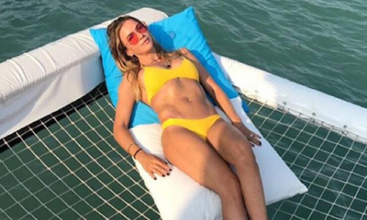 Ivana Sert dinlenme sezonunu açtı