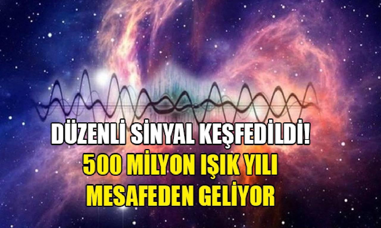 Derin uzaydan düzenli telefonda keşfedildi! (500 1000000 ışık yılı mesafeden geliyor)