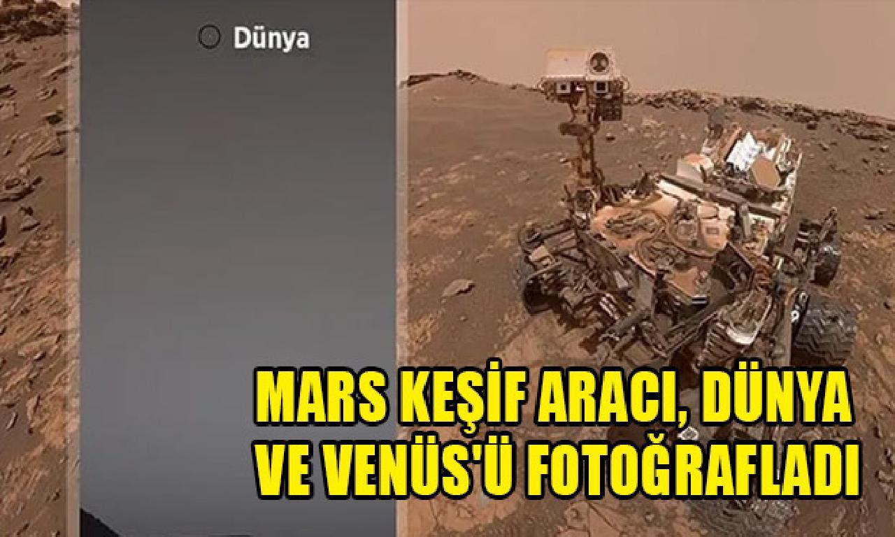 Mars keşif aracı, Dünya dahi Venüs'ü fotoğrafladı