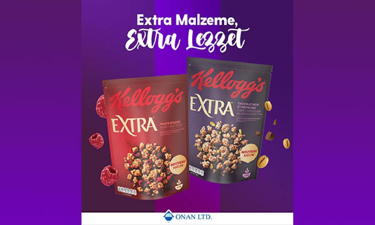 Yeni ürün Kellogg's Extra marketlerde